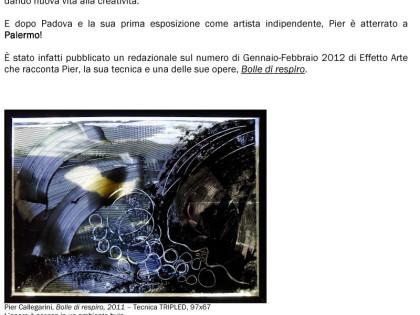 NEWSLETTER MARZO 2012 – PIER©ALLEGARINI