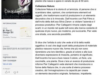 Collezione Natura di Pier Callegarini